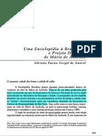 [Artigo] Uma Enciclopédia à Brasileira