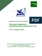 Panduan Penyusunan Proposal Pp-pts 2018