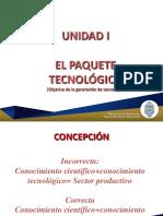 1.5 Paquete Tecnológico
