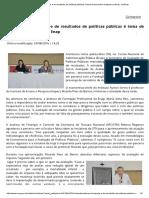 Avaliação de Impacto e de Resultados de Políticas Públicas é Tema de Seminário Realizado Na Enap - Notícias