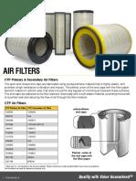 Ctp 720 030 Air Filters