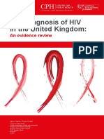 Late HIV Diagnosis Rapid Evidence Review Final Covers