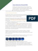 Preventive Maintenance Optimization Through FMEA