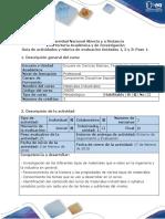 Guía de actividades y rúbrica de evaluación - Paso 1 - Reconocimiento general y de actores (1)