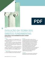 Artigo - Evolução Dos Direitos Fundamentais