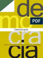 Cuaderno Democracia