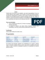 Tds Chilcomar Pa-721