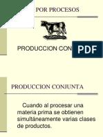Costos de Producción Conjunta