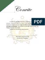 Convite Mão Coruja Fevereio 2018