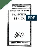 Moore George Edward - Principia Ethica