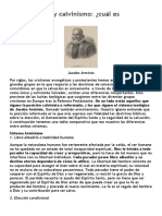 Estudio Arminianismo y Calvinismo