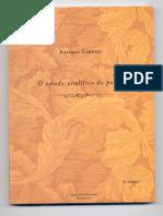 CÂNDIDO, Antonio - O Estudo Analítico do poema.pdf