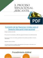 El Proceso Internacional Mercantil