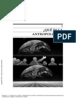 ¿Qué es la Antropología_