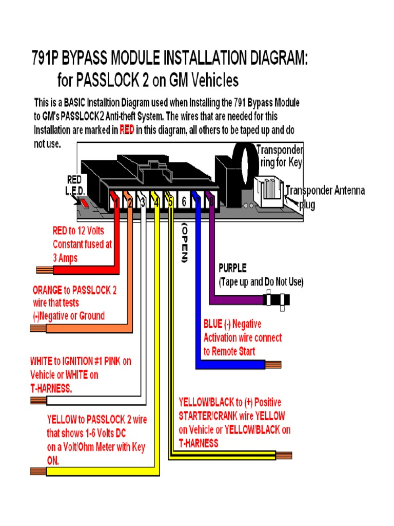 Gm Passlock 2 Wiring Diagram Getting Ready With Wiring Diagram
