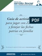 Actividades Para Festejar Fechas Patrias en Familia - Ministerio de Desarrollo Social