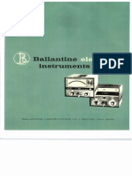 Ballatince Electronic Instruments (Catalog)