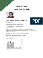 Robert Kiyosaki Why the Rich Get Richer