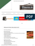 Massa de Pizza Pan (Pizza Hut) _ Máquina de Pão.pdf