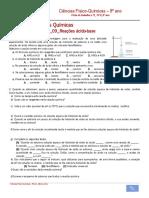 Ficha de trabalho n.º 9_09_Reações ácido-base