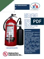 Extintores Badger Co2 10 Lb.
