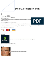 Bitfinex Preview BFX Conversion Pitch