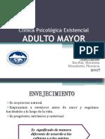 Adulto Mayor Clínica Existencial