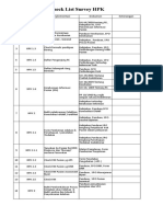 Check List HPK