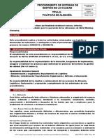 Sgc-pr 4 2 3-01 Politicas Almcen