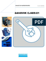 Manual de Mantenimiento chancadora SANDVIK CJ409
