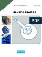 Manual de Mantenimiento chancadora SANDVIK CJ409