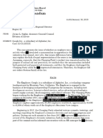 NLRB Damore v Google Advice Memorandum 1-16-2018