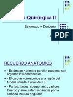 05 Patologias Qxs Estomago Duodeno y Ulceras