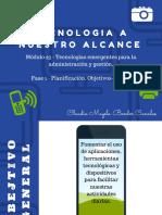 Proyecto escolar - Tecnología a Nuestro Alcance