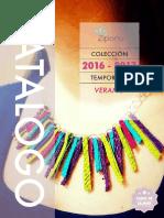 Catalogo Detalle Zipora 2016