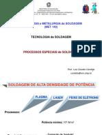 Tecnologia da Soldagem - Processos Especiais de Soldagem - Alta densidade de energia.pdf