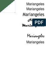 Mari Angeles
