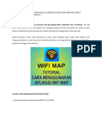 Tutorial Cara Menggunakan Aplikasi Wifi Map
