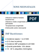 VILLEMARQUE Infections Neonatales