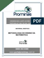 Metodologia Da Matemática