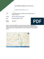Simplified Handbook of Vibration Analysis