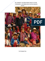 The Mesoamerica Project, the energy policy of the Guatemalan Government and the extractive industry and their link to human rights abuses