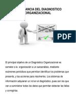 Importancia Del Diagnostico Organizacional