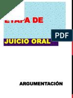 10-Etapa Juicio Oral