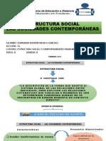 ESTRUCTURA SOCIAL DE LAS SOCIEDADES CONTEMPORANEAS