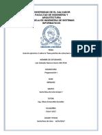 """Guía de ejercicios 2 sobre la """"Guía práctica de estructura selectivas"""""""