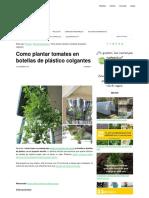 Como Plantar Tomates en Botellas de Plástico Colgantes _ EcoInventos.com