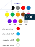 4. Colors.