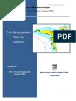 City Development Planfor Cuttak