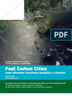 POST CARBON CITIES - COME AFFRONTARE L'INCERTEZZA ENERGETICA E CLIMATICA